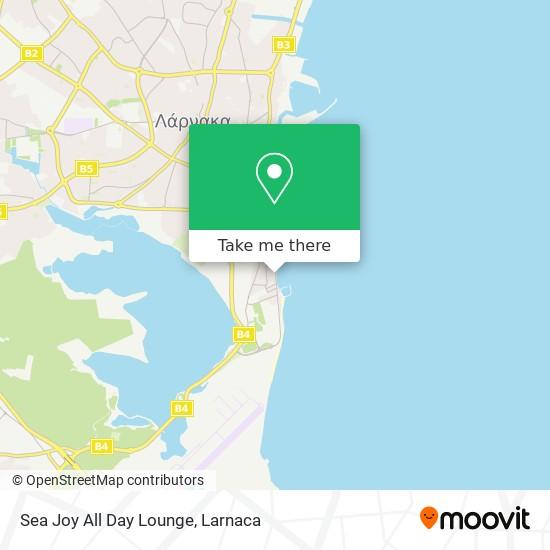 Sea Joy All Day Lounge χάρτης