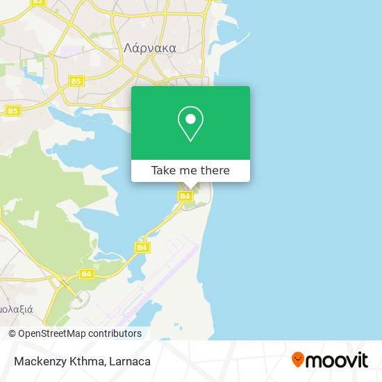 Mackenzy Kthma χάρτης