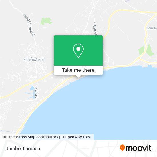 Jambo χάρτης
