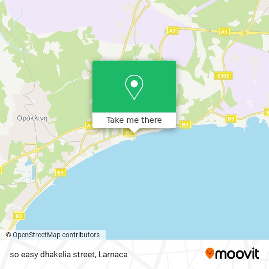 so easy dhakelia street χάρτης