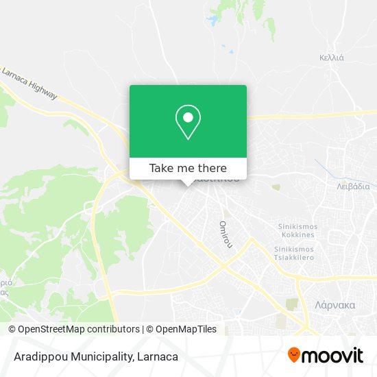 Aradippou Municipality χάρτης