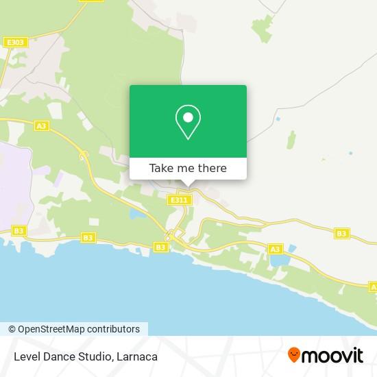 Level Dance Studio χάρτης