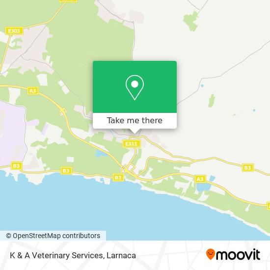 K & A Veterinary Services χάρτης
