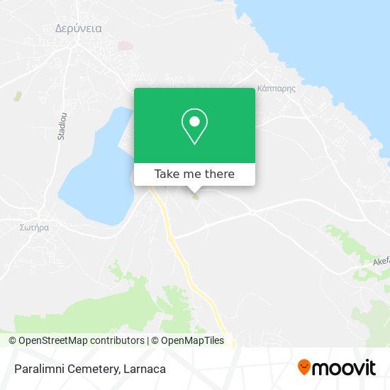 Paralimni Cemetery χάρτης