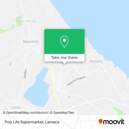 Pop Life Supermarket χάρτης