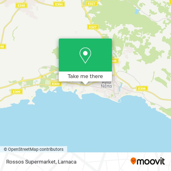 Rossos Supermarket χάρτης