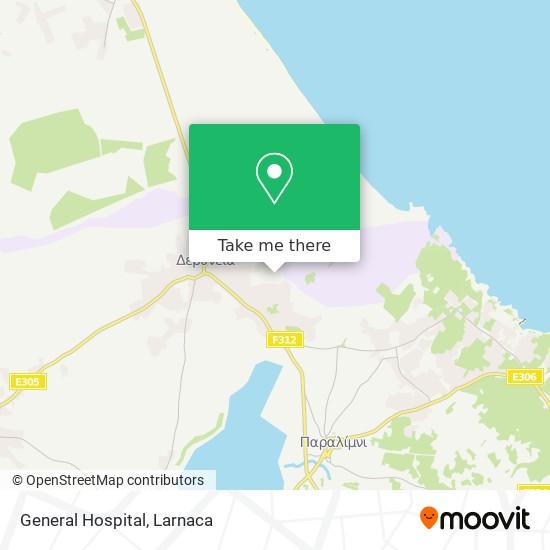 General Hospital χάρτης