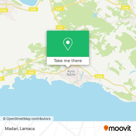 Madari χάρτης