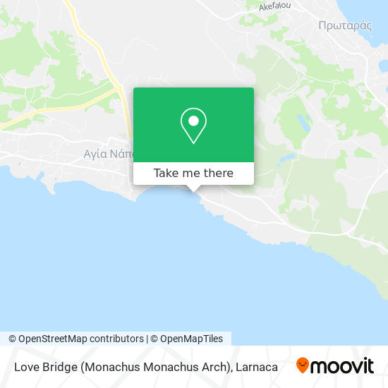 Love Bridge χάρτης