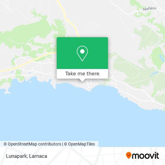 Lunapark χάρτης