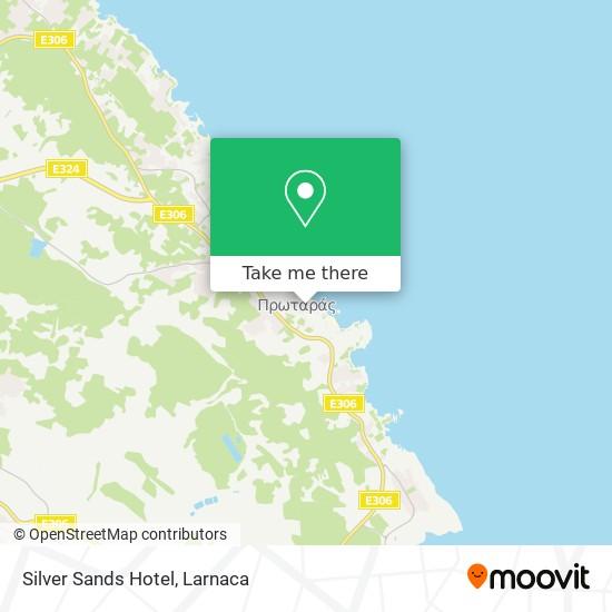 Silver Sands Hotel χάρτης