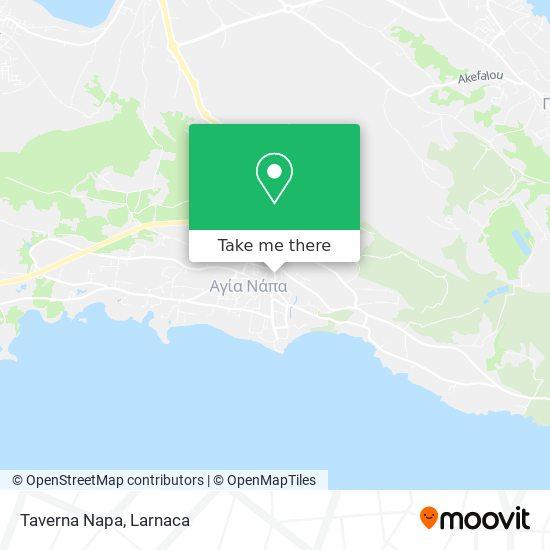Taverna Napa χάρτης