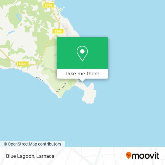 Blue Lagoon χάρτης
