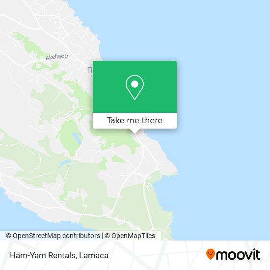 Ham-Yam Rentals χάρτης