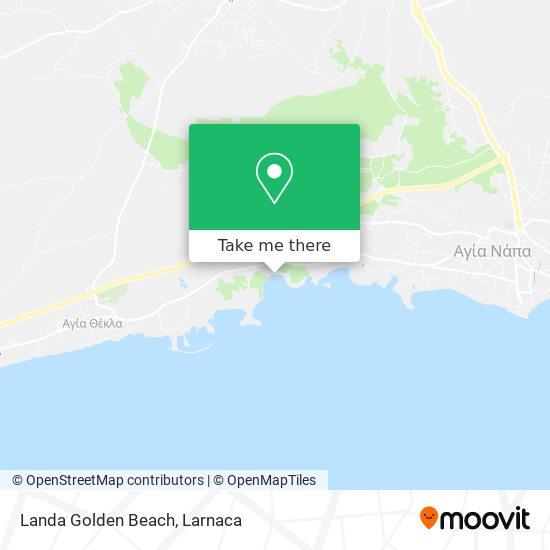 Landa Golden Beach χάρτης