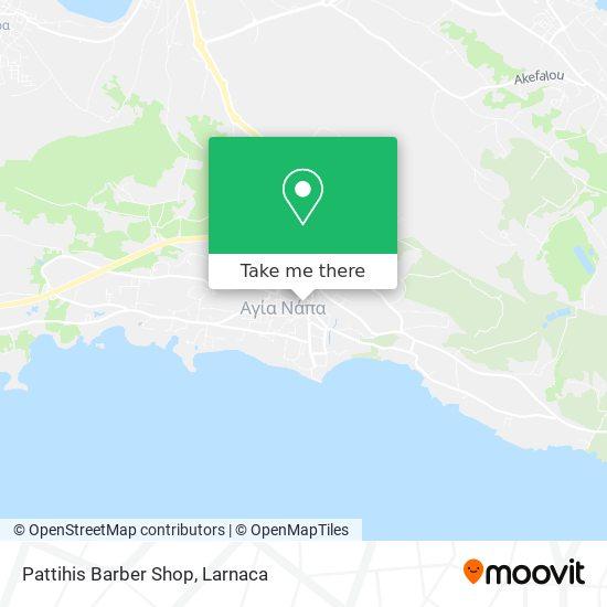 Pattihis Barber Shop χάρτης