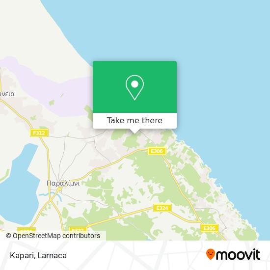 Kapari χάρτης
