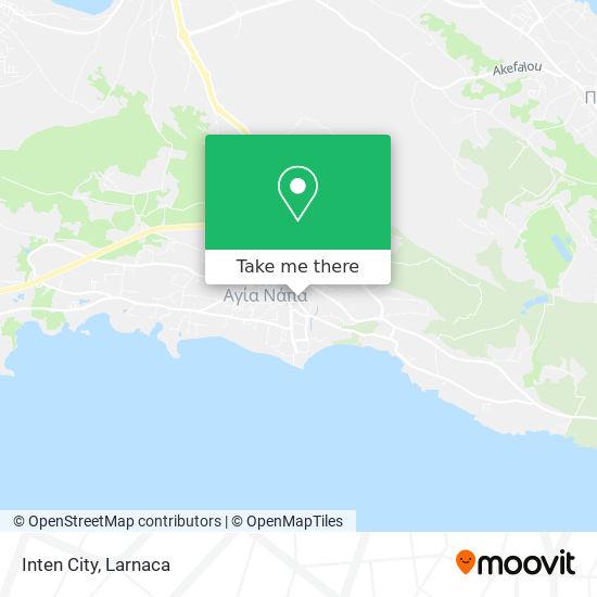 Inten City χάρτης