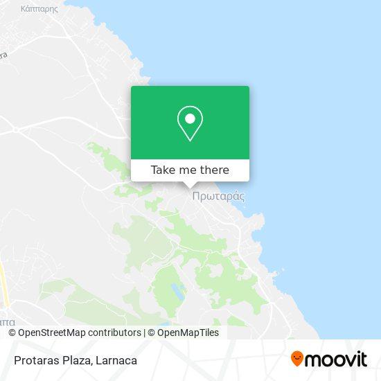 Protaras Plaza χάρτης