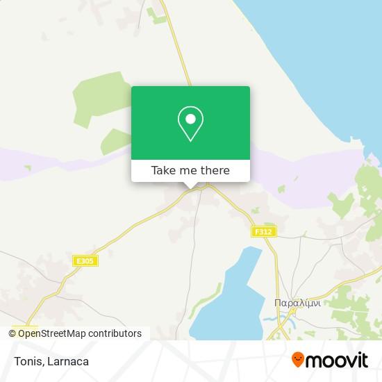 Tonis χάρτης