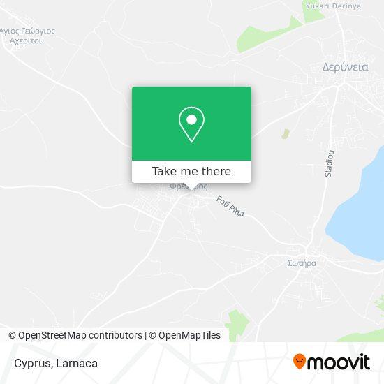 Cyprus χάρτης