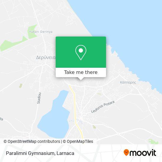 Paralimni Gymnasium χάρτης