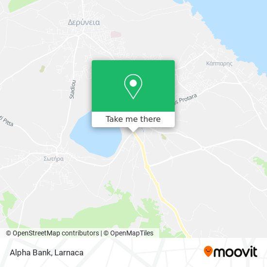 Alpha Bank χάρτης