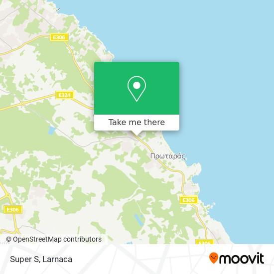Super S χάρτης