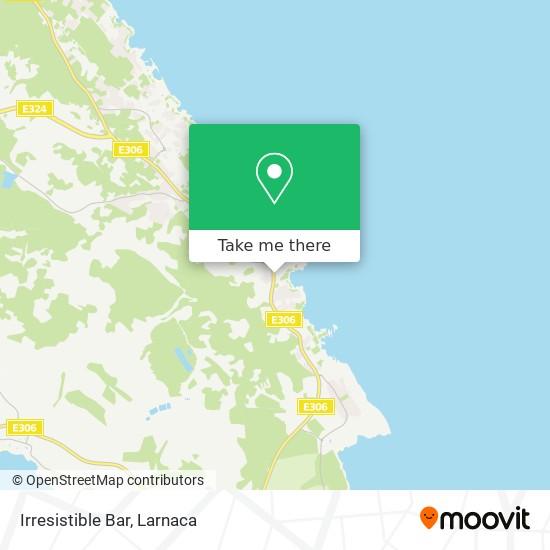 Irresistible Bar χάρτης