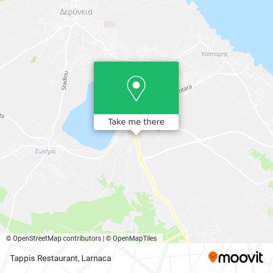 Tappis Restaurant χάρτης