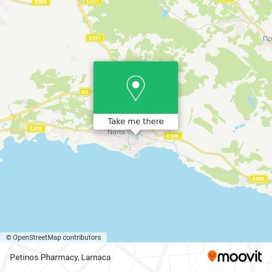 Petinos Pharmacy χάρτης