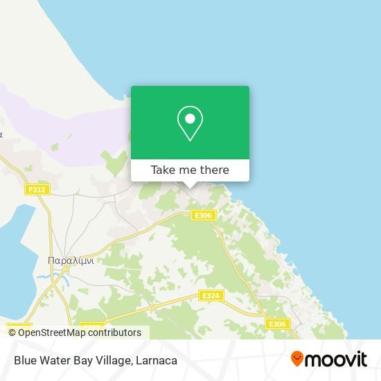 Blue Water Bay Village χάρτης