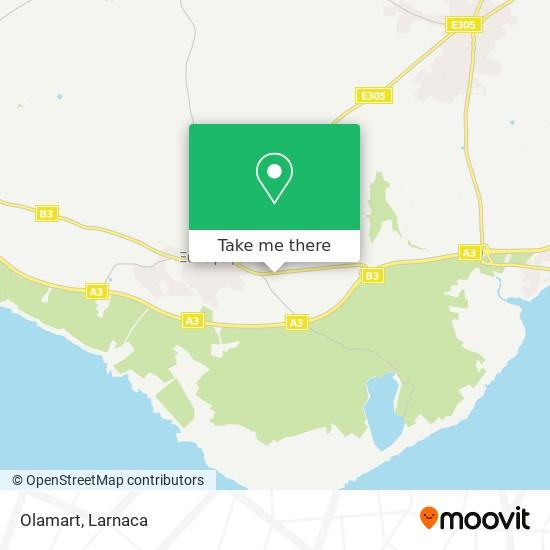 Olamart χάρτης