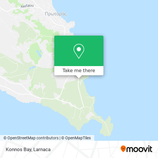 Konnos Bay χάρτης