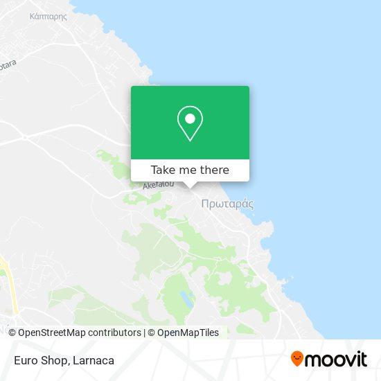 Euro Shop χάρτης