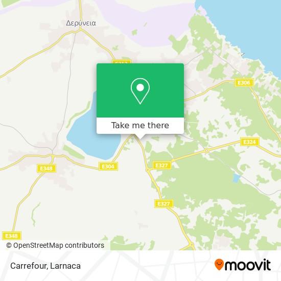 Carrefour χάρτης