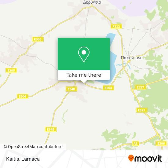 Kaitis χάρτης