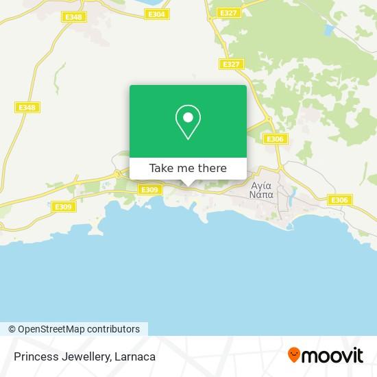 Princess Jewellery χάρτης