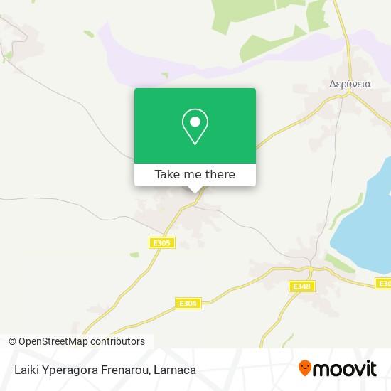 Laiki Yperagora Frenarou χάρτης