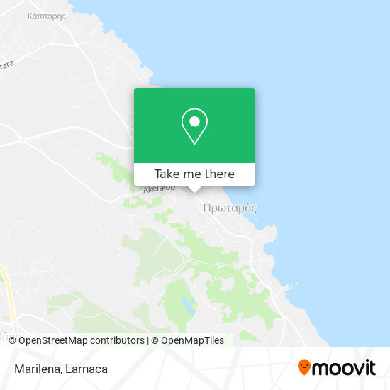 Marilena χάρτης