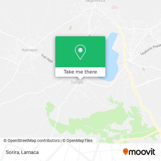 Sorira χάρτης
