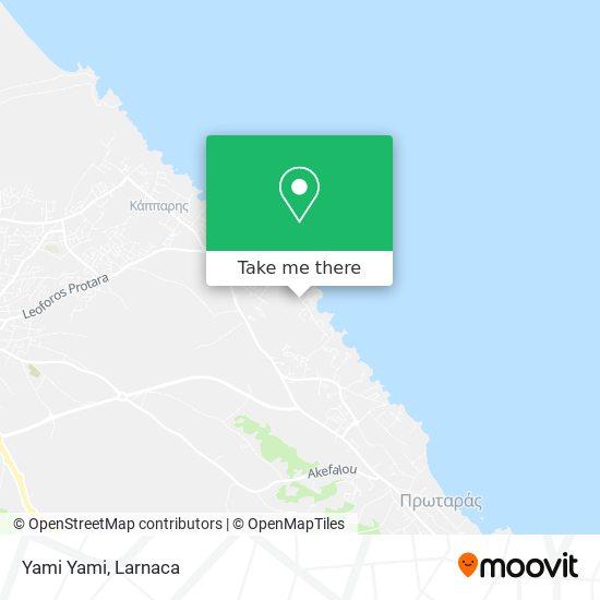 Yami Yami χάρτης