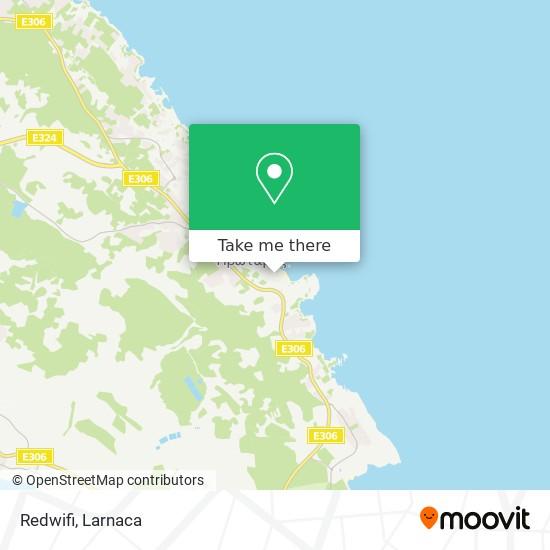 Redwifi χάρτης