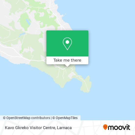 Kavo Gkreko Visitor Centre χάρτης
