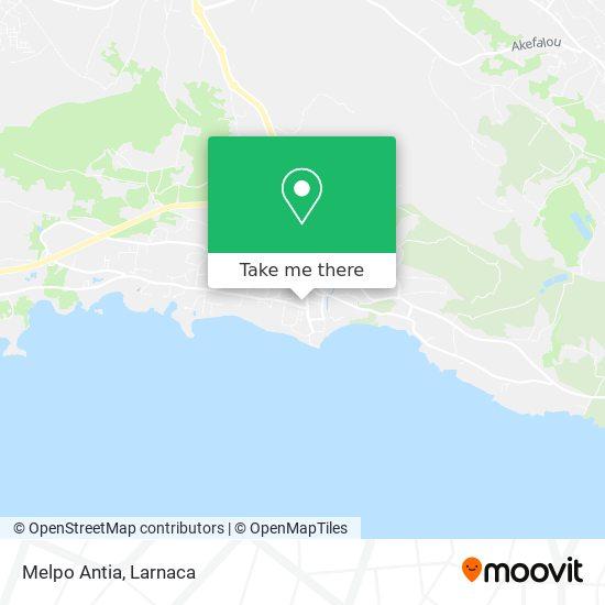 Melpo Antia χάρτης