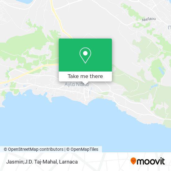 Jasmin;J.D. Taj-Mahal χάρτης