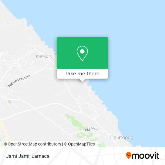 Jami Jami χάρτης