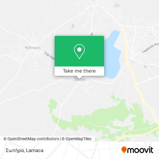 Sotira χάρτης