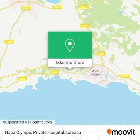 Napa Olympic Private Hospital χάρτης