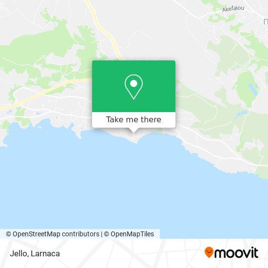 Jello χάρτης